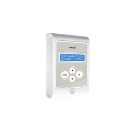 controlador microsol II  Power com a interface wall-link