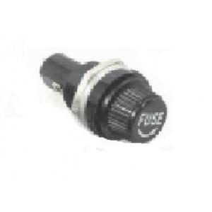 Porta Fusivel Cilindrico 5 X 20mm - Preto